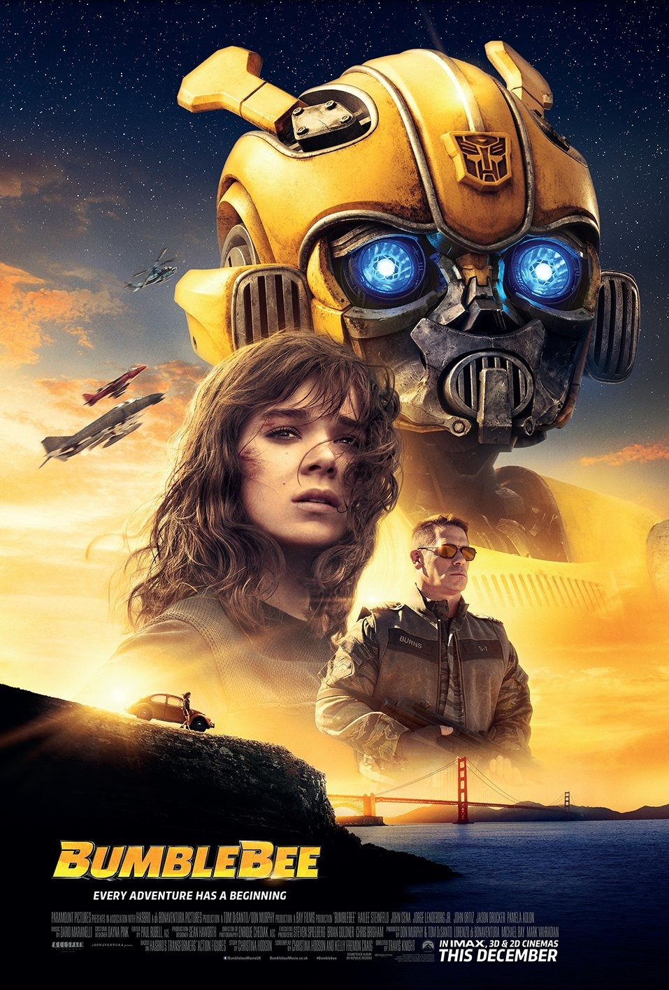 affiche web bumblebee