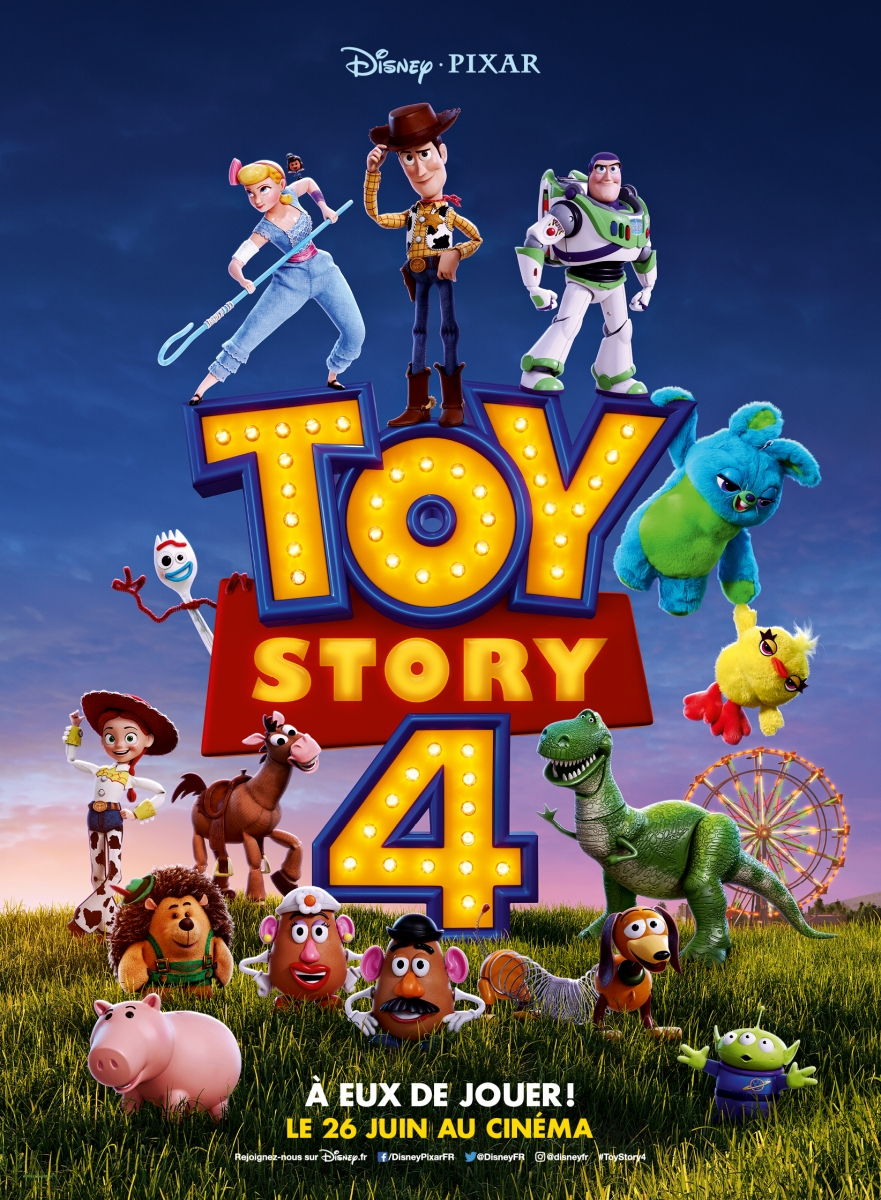 affiche web toy story 4